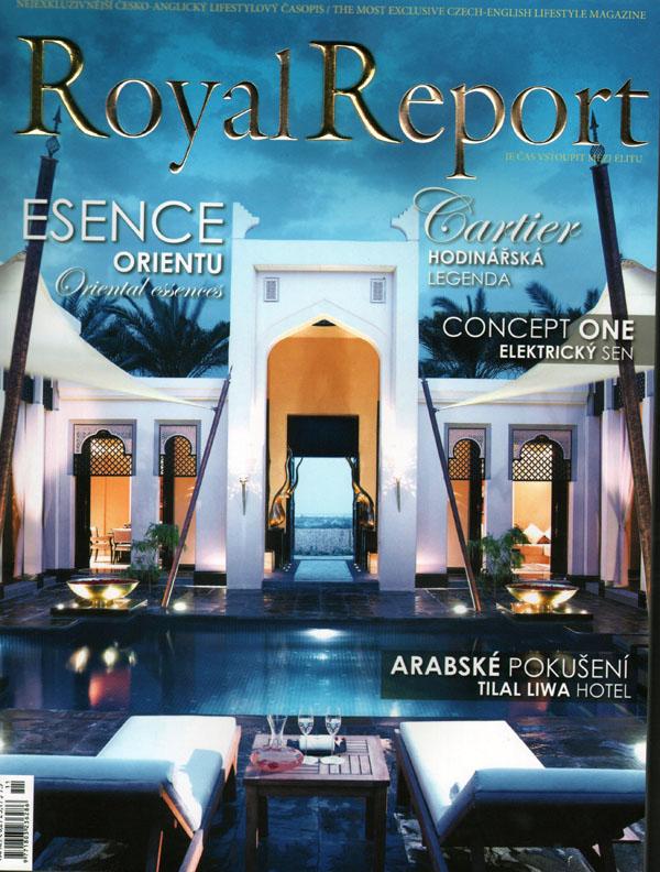 Royal Report listopad - titulka
